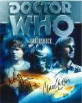 Matthew Waterhouse & Clare Clifford - Genuine Signed Autograph 6826
